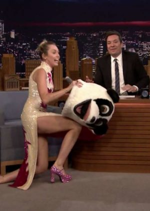 Miley Cyrus - The Tonight Show Starring Jimmy Fallon