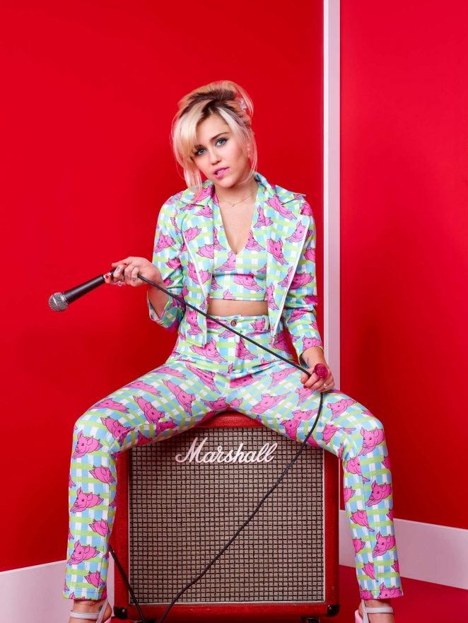 Miley Cyrus - The Voice Promo Photoshoot 2016