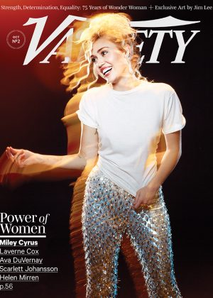 Miley Cyrus - Variety Magazine Cover (October 2016)