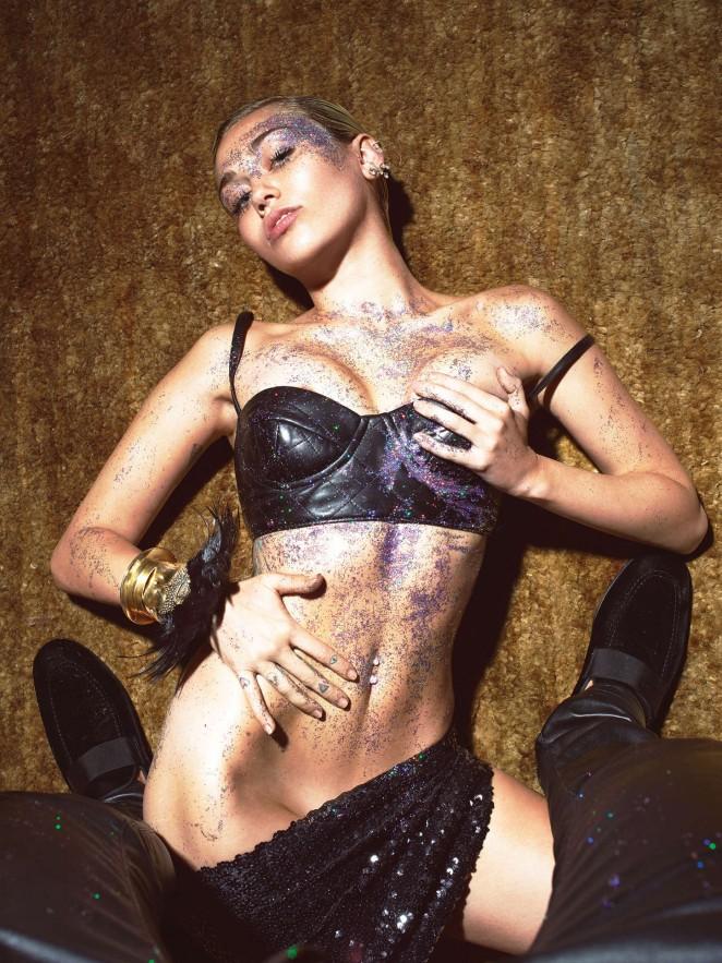 Miley Cyrus: W Magazine 2015 -01