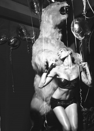 Miley Cyrus - W Magazine (September 2015)