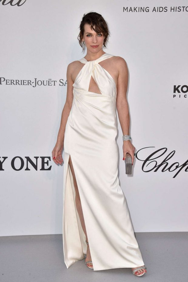 Milla Jovovich - amfAR's 2019 Cinema Against AIDS Gala in Cannes