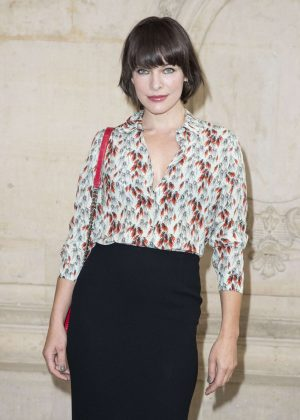 Milla Jovovich - Christian Dior Show SS 2017 in Paris