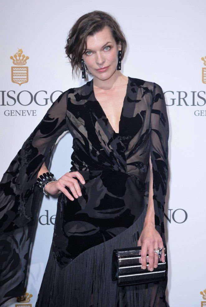 Milla Jovovich - De Grisogono Party at 2016 Cannes Film Festival