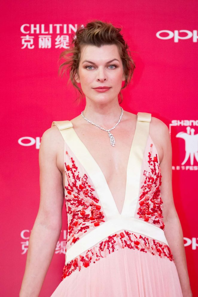 Milla Jovovich - Golden Goblet Awards and Closing Ceremony in Shanghai