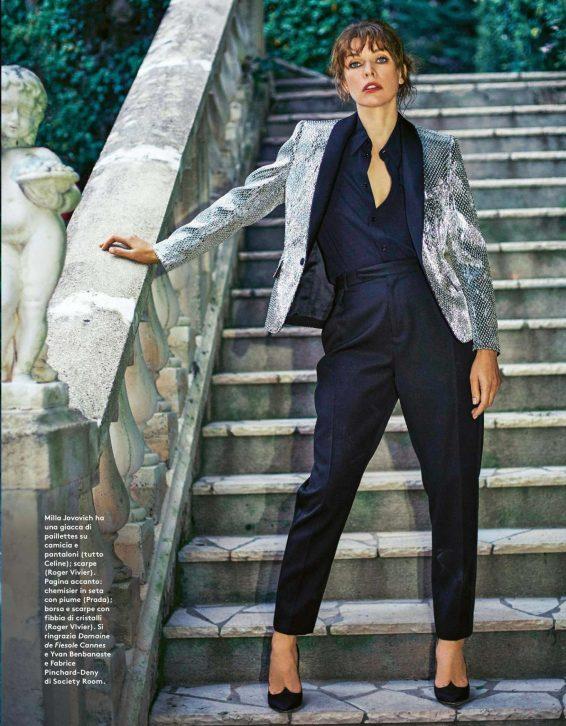 Milla Jovovich - Grazia Italy Magazine (July 2019)