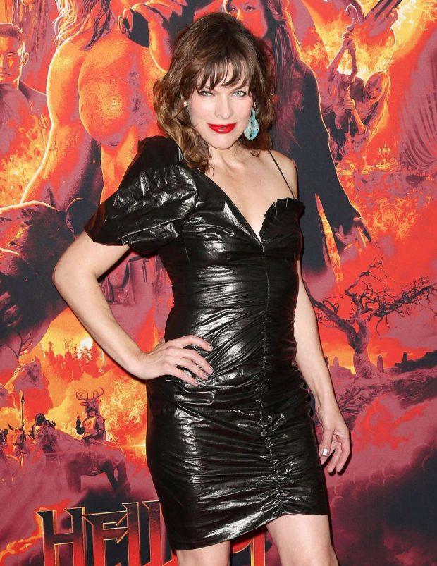 Milla Jovovich - 'Hellboy' Premeire in New York