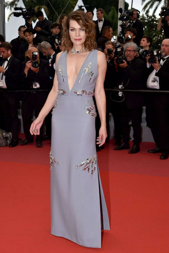 Milla Jovovich - Photocall at Burning Premiere at 2018 Cannes Film Festival