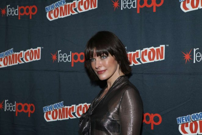 Resident Evil The Final Chapter 24: Milla Jovovich: Resident Evil The Final Chapter Panel At