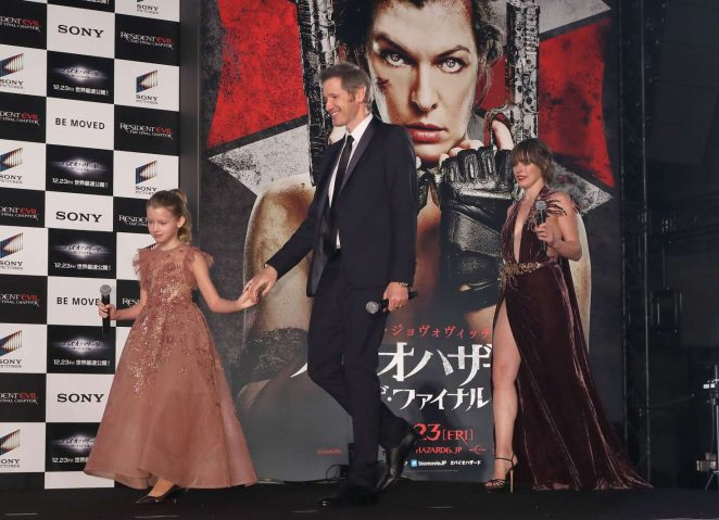 Resident Evil The Final Chapter Premiere In: Milla Jovovich: Resident Evil: The Final Chapter Premiere