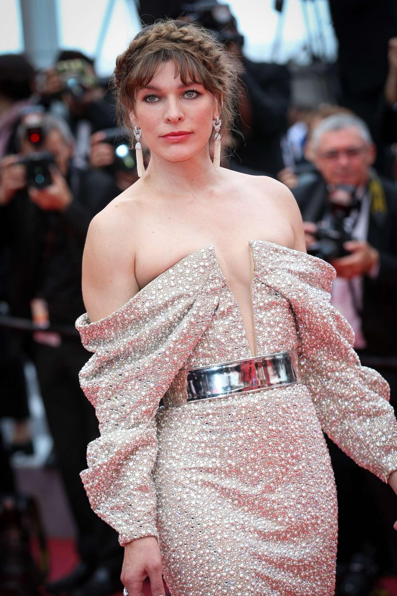 Milla Jovovich - 'Sibyl' Premiere at 2019 Cannes Film Festival