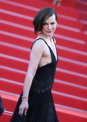 Milla Jovovich: The Last Face Premeire at 2016 Cannes Film Festival ...  Milla Jovovich