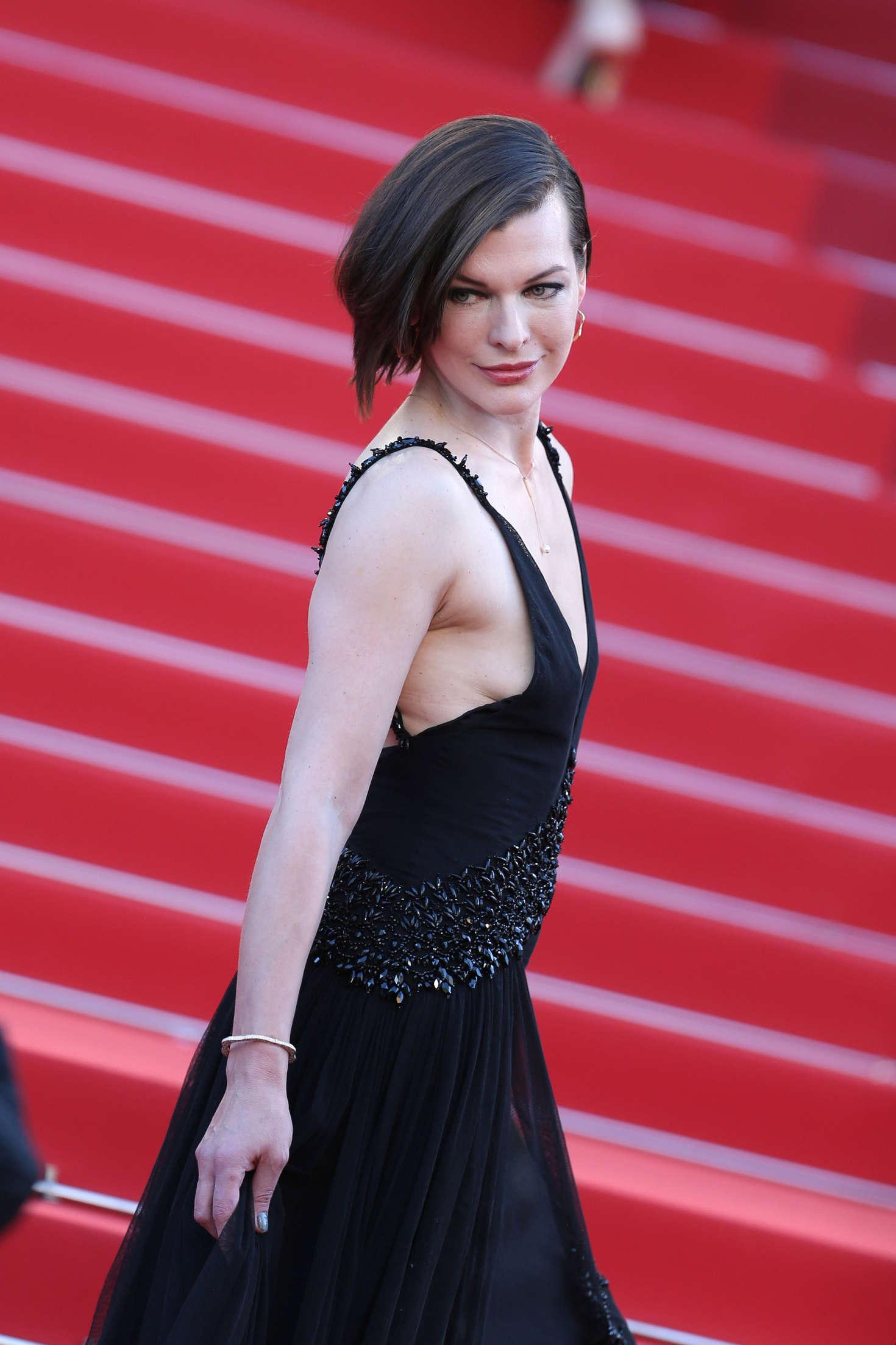 Milla Jovovich The Last Face Premeire At 2016 Cannes Film