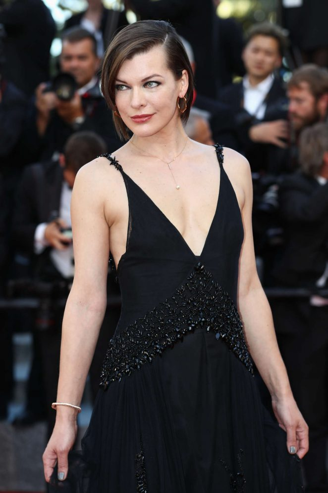 Milla Jovovich - 'The Last Face' Premeire at 2016 Cannes Film Festival