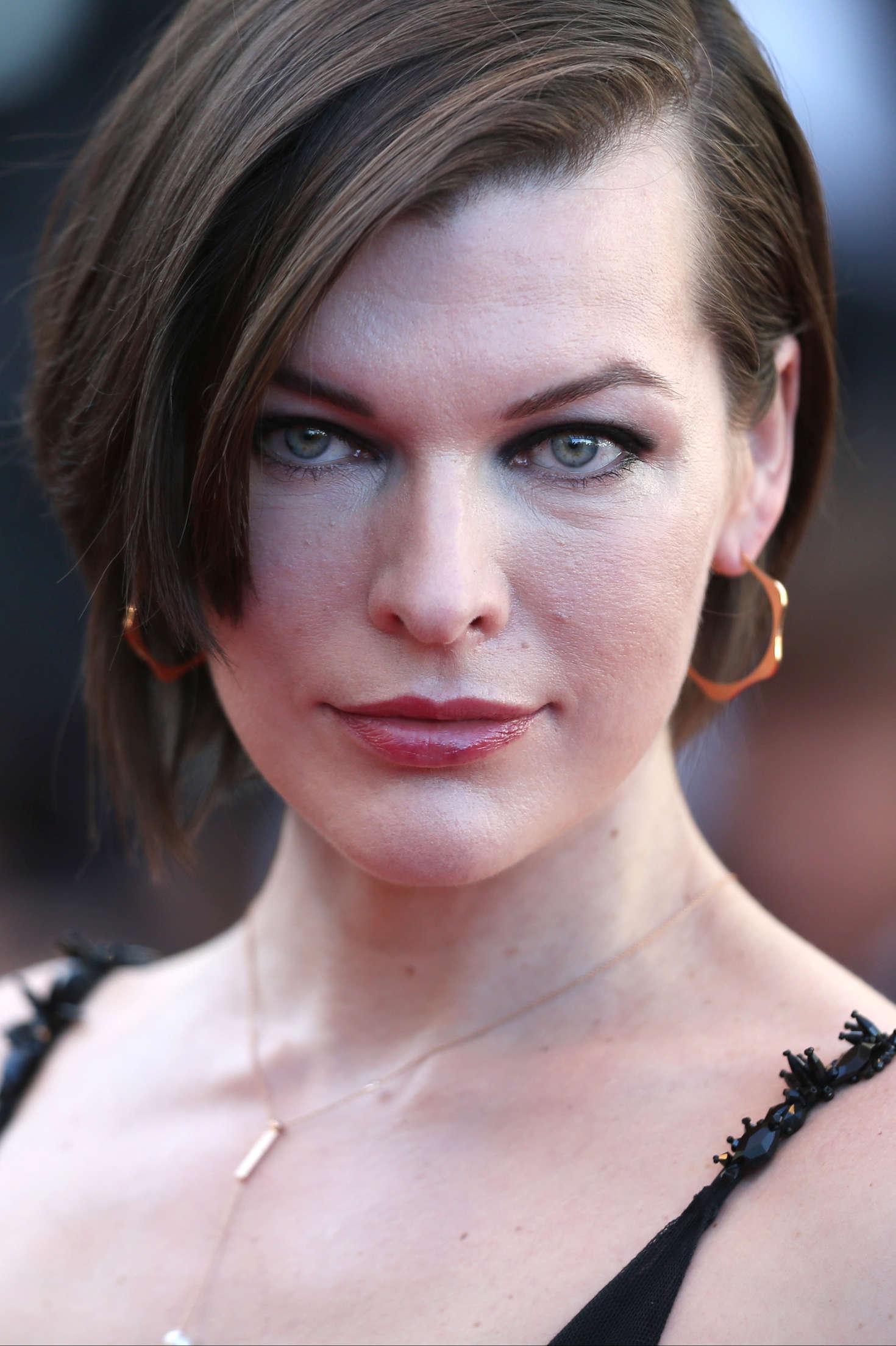 Milla Jovovich: The Last Face Premeire at 2016 Cannes Film ... милла йовович