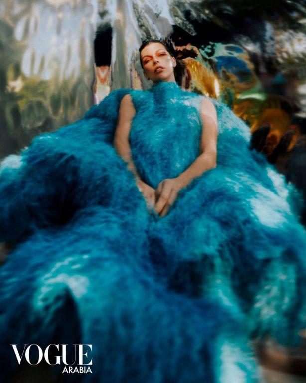 Milla Jovovich - Vogue Arabia January 2021