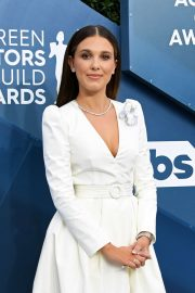 Millie Bobby Brown - 2020 Screen Actors Guild Awards in Los Angeles
