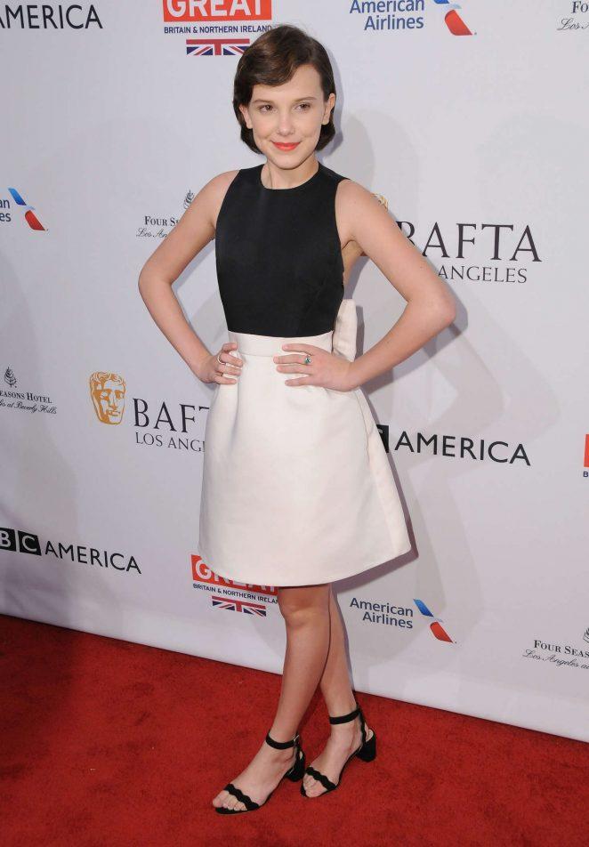 Millie Bobby Brown - BAFTA LA Tea Party 2017 in Beverly Hills