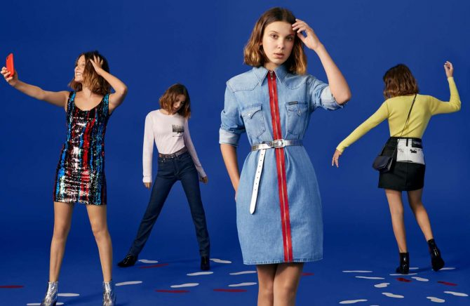 Millie Bobby Brown – Calvin Klein Holiday Campaign (December 2018)