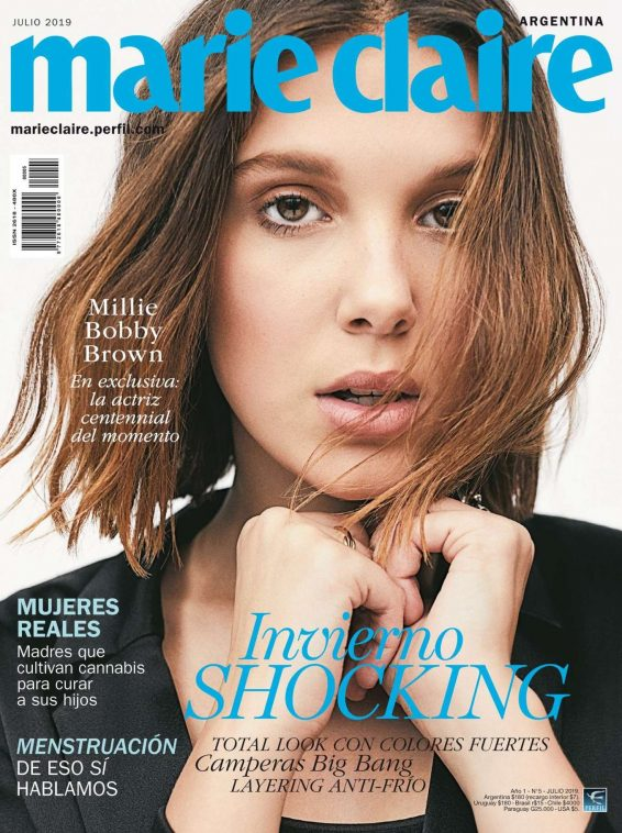 Millie Bobby Brown for Marie Claire Argentina Cover (July 2019)