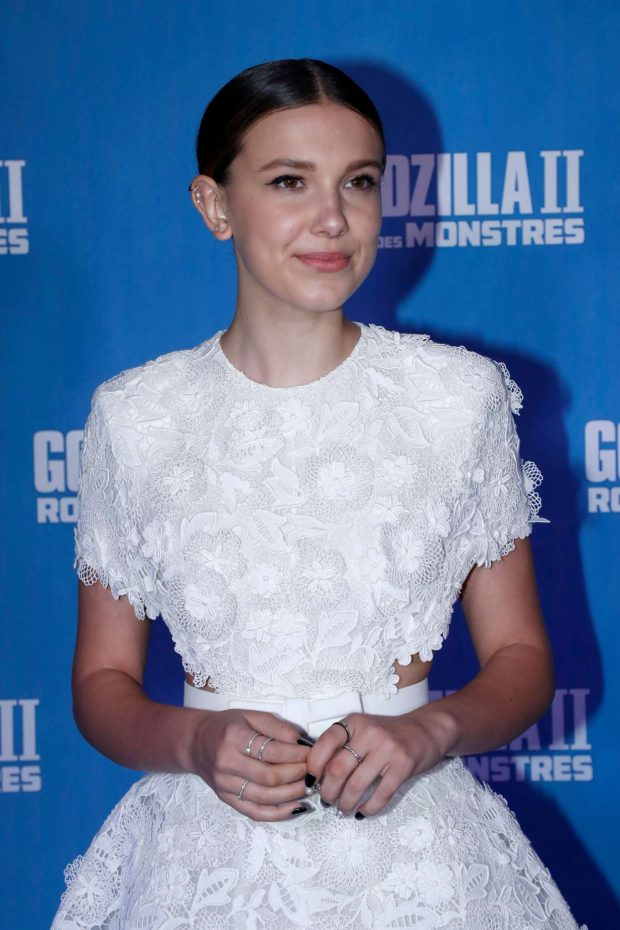 Millie Bobby Brown - 'Godzilla II - Roi des Monstres' Premiere in Paris