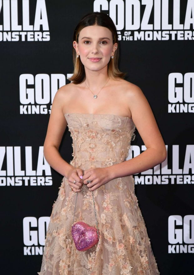 Millie Bobby Brown - 'Godzilla' Special Screening in London