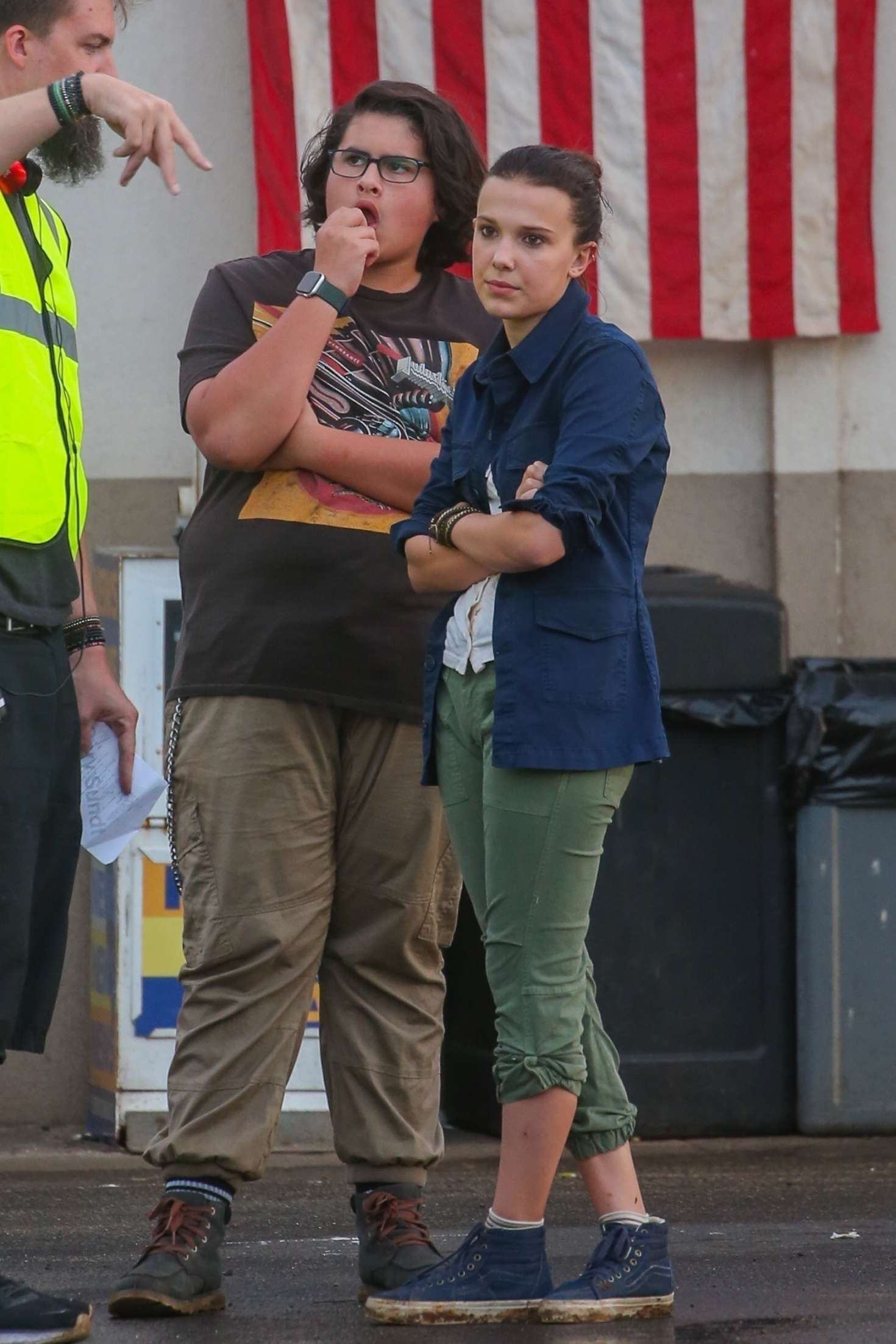 Millie Bobby Brown – On set of 'Godzilla vs Kong' in Honolulu