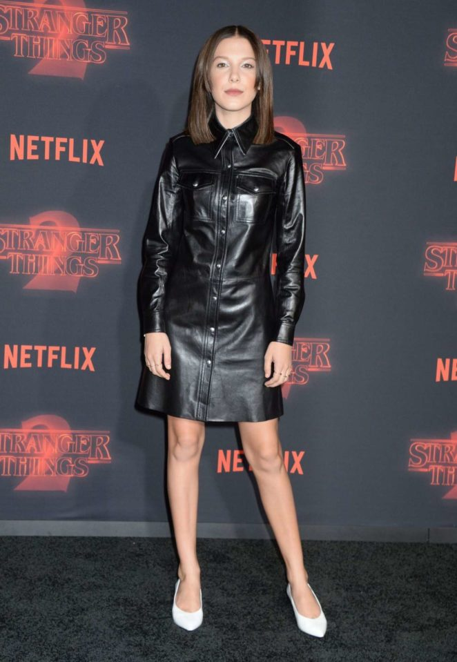 Millie Bobby Brown: Stranger Things 2 Premiere -02