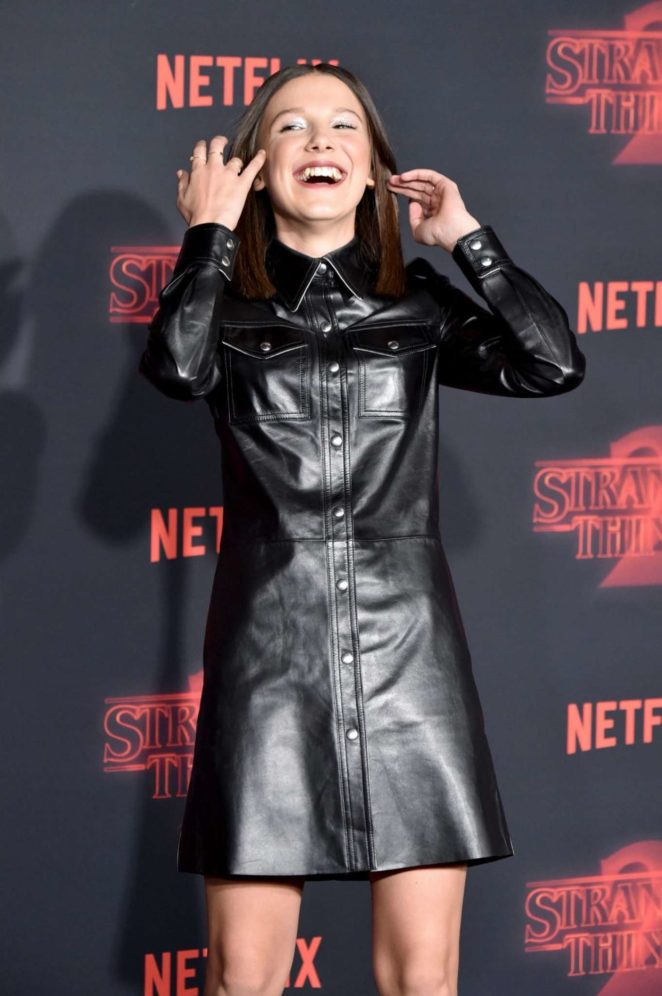 Millie Bobby Brown - 'Stranger Things 2' Premiere in Los Angeles