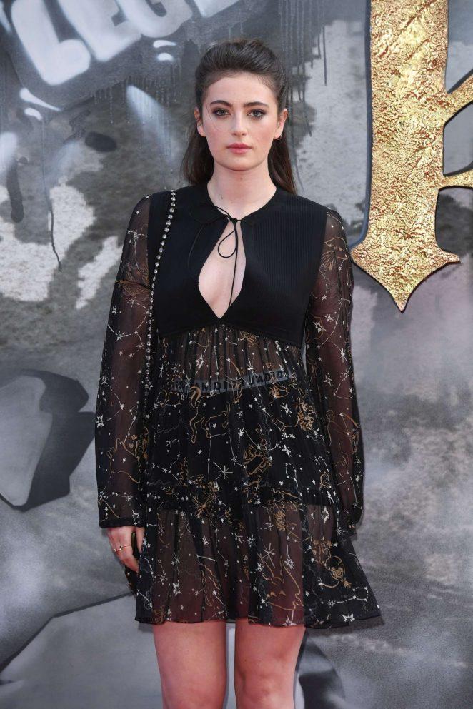 Millie Brady - 'King Arthur: Legend of the Sword' Premiere in London
