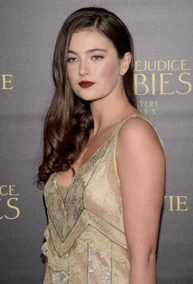 Millie Brady - 'Pride and Prejudice and Zombies' Premiere in Los Angeles