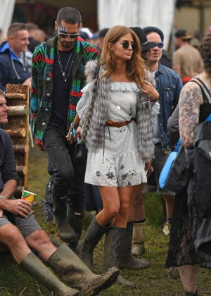 Millie Mackintosh - 2016 Glastonbury Festival Day 1 in England