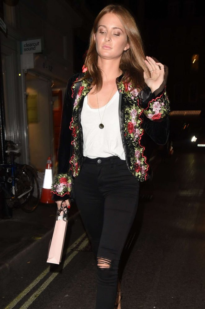 Millie Mackintosh at Agent Provocateur in London