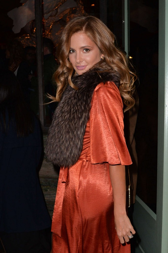Millie Mackintosh at Private Dinner of Creme de la Mer in London