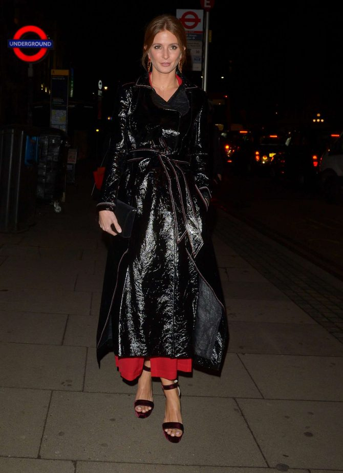 Millie Mackintosh - Attending Fashion Fighting Poverty for Oxfam in London