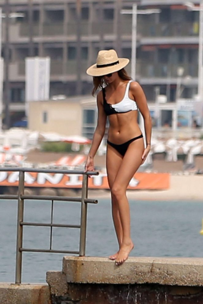 Millie Mackintosh in Bikini in Cannes