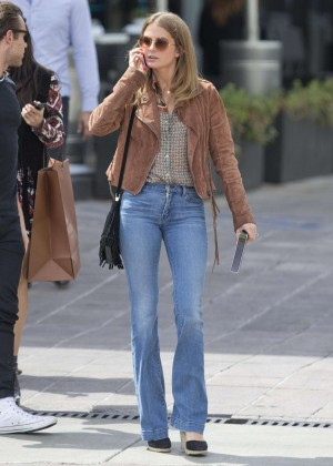 Millie Mackintosh in Jeans out in LA
