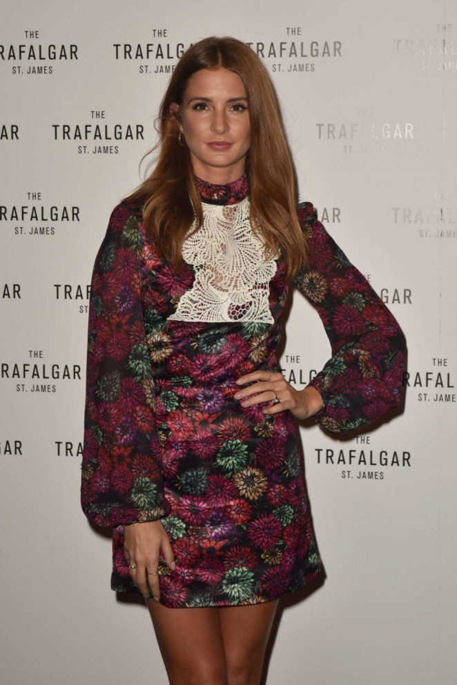 Millie Mackintosh - The Trafalgar St James Launch Party in London