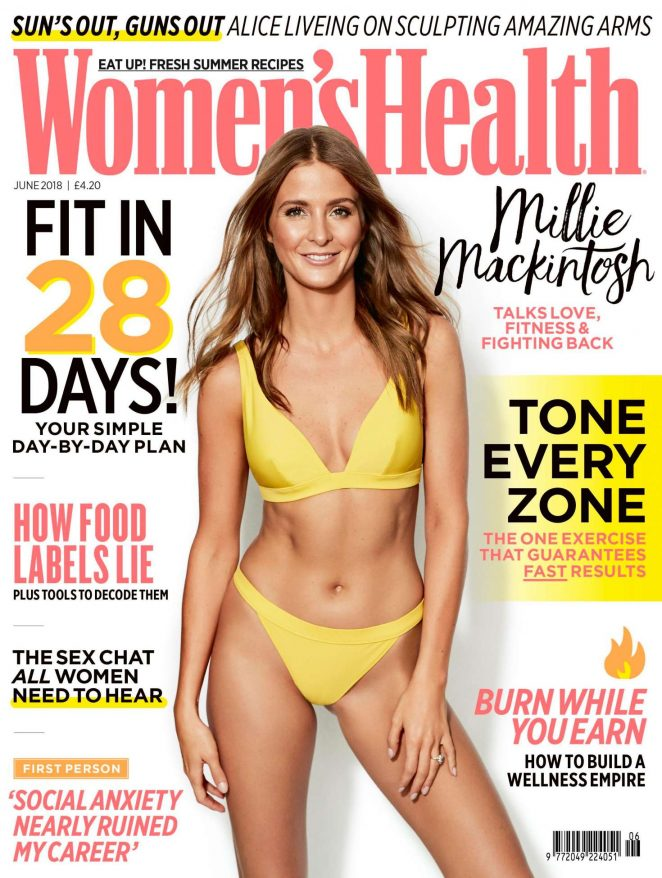 Millie Mackintosh – Women's Health UK Magazine (June 2018)