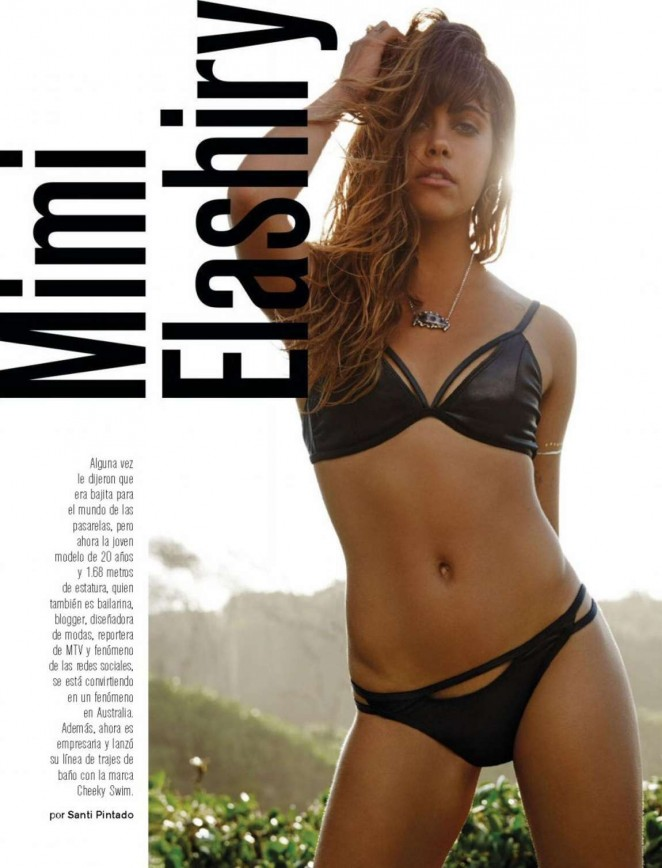 Mimi Elashiry - Maxim Mexico Magazine (March 2016)