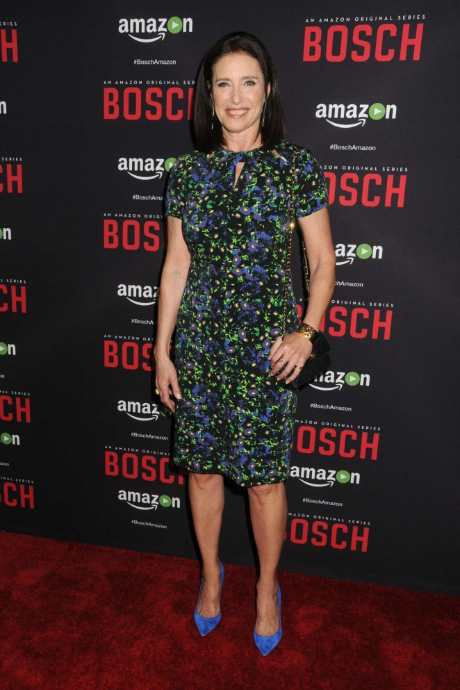 Mimi Rogers - 'Bosch' Season 2 Premiere in West Hollywood