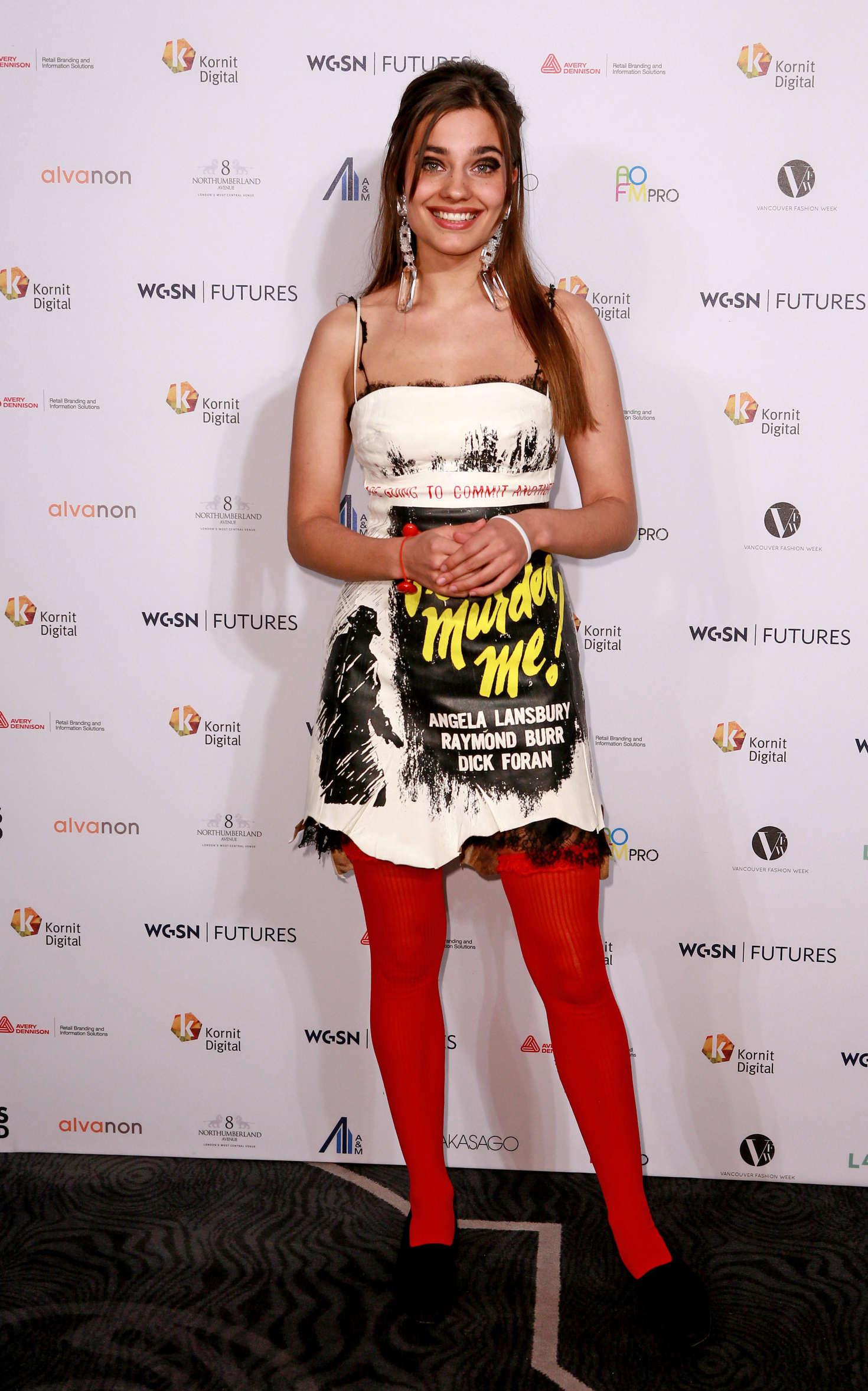 Mimi Wade - WGSN Futures Awards 2016 in London