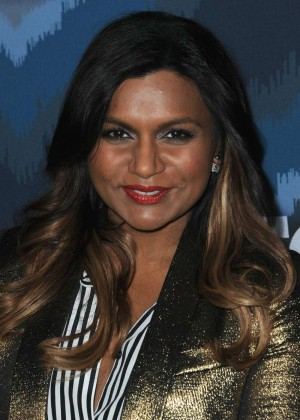 Mindy Kaling: 2015 Fox All-Star Party -01
