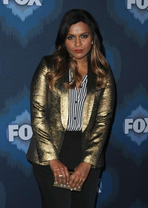 Mindy Kaling: 2015 Fox All-Star Party -02