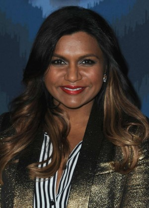 Mindy Kaling: 2015 Fox All-Star Party -03