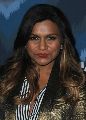 Mindy Kaling: 2015 Fox All-Star Party -04