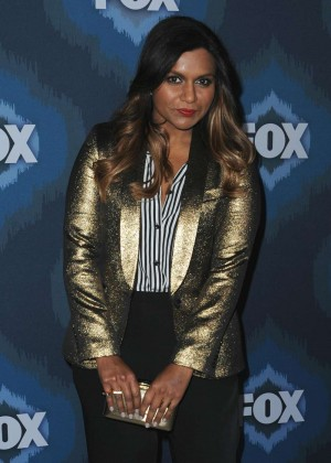 Mindy Kaling: 2015 Fox All-Star Party -05