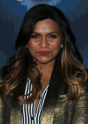 Mindy Kaling: 2015 Fox All-Star Party -06