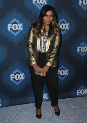 Mindy Kaling: 2015 Fox All-Star Party -07