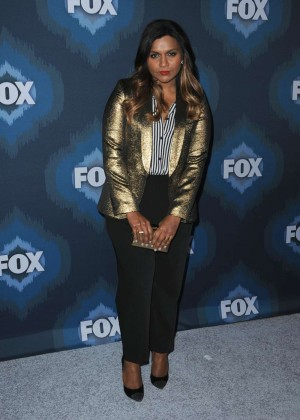 Mindy Kaling: 2015 Fox All-Star Party -08